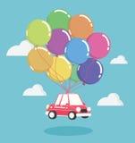 Concept Illustration Auto loans Stock Photography
