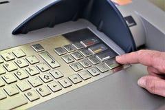An concept image of a atm, bank, money royalty free stock photos