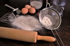 An concept image of baking, bakery, food, kitchen stock photo