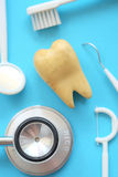 Concept image of dental Royalty Free Stock Photo