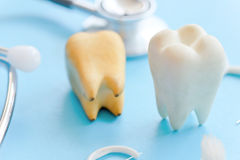 Concept image of dental Stock Photography