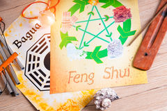 Concept image of Feng Shui Stock Photography