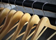 An image of a hanger, boutique, fashion. An concept image of a hanger, Boutique, Fashion - abstract Royalty Free Stock Photography