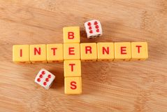 Internet betting. Concept image of internet betting stock photo