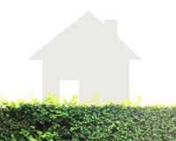 Concept image of make your house Royalty Free Stock Photo