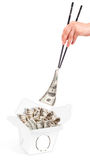 Concept Image Of Food Money Royalty Free Stock Photo