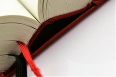 An concept Image of a open book, with copy space. Abstract Royalty Free Stock Photography