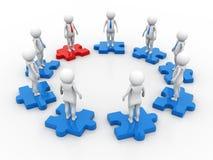 Networking, connection, social networks, communications, Leader , Leadership Concept. 3d render. Concept image representing network, networking, connection stock illustration