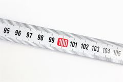 An concept Image of a ruler - with copy space royalty free stock image