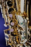 An concept Image of a Saxophone - music Royalty Free Stock Photography