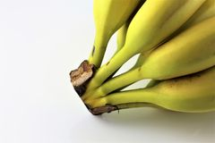 An concept Image of some bananas - banana, dessert, fruit, food. Abstract stock photo