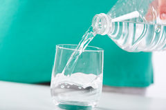Concept of the importance of hydration Royalty Free Stock Image