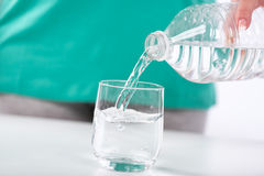 Concept of the importance of hydration Stock Photos