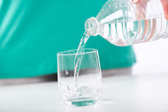 Concept of the importance of hydration Stock Photography