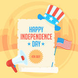 Concept Independence Day Royalty Free Stock Images