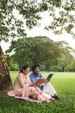 Concept indien de soin d'amour de couples Image stock