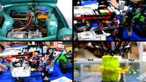 Concept 4 industriële revolutie 0 stock videobeelden