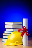 Concept of industrial education Royalty Free Stock Images