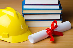 Concept of industrial education Royalty Free Stock Image