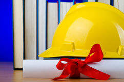 Concept of industrial education Stock Photography