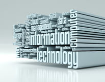 Concept of information technology Stock Photography