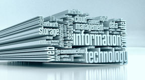 Concept of information technology Stock Photo