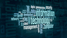 Concept of information technology Stock Image