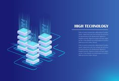 Concept informatique Illustration Stock