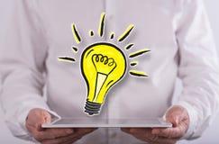 Concept innovatie royalty-vrije stock afbeeldingen