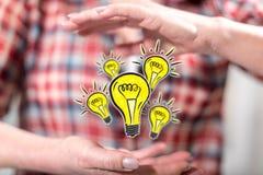 Concept innovatie stock foto