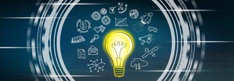 Concept innovatief idee vector illustratie