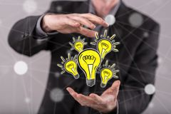 Concept of innovation Royalty Free Stock Photo