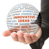 Concept of innovative ideas in business Stock Photos