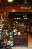 Concept intérieur d de vintage de maison de campagne en bois rustique de meubles photo stock