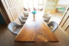 Concept intérieur de salon Décorez moderne à la maison image libre de droits