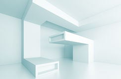Concept intérieur futuriste illustration libre de droits
