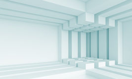 Concept intérieur futuriste illustration stock