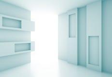 Concept intérieur futuriste illustration de vecteur