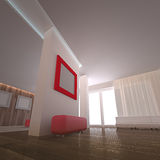 Concept interior Stock Image