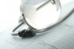 Concept the international medical community Stock Image