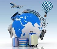 Concept of international tourism Stock Photo