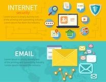Concept Internet-Bescherming Royalty-vrije Stock Afbeeldingen