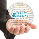 Concept of Internet marketing in business Stock Photography