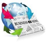 Concept - Internet News Stock Photo