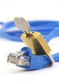 Concept Internet veiligheid Royalty-vrije Stock Afbeeldingen