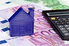 Concept of investment in real estate Royalty Free Stock Images
