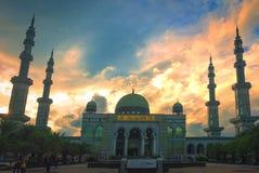 Concept islamique : belle grande mosquée photographie stock