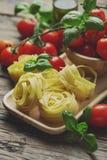 Concept Italiaans voedsel stock foto