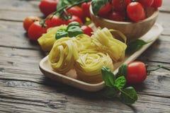 Concept Italiaans voedsel stock afbeeldingen