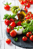 Concept of italian food Stock Photography